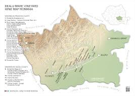Romania Map Wine Regions Of Romania