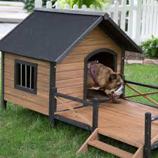 House With Porch by Diy Dog House Plans For All Skill Levels Red Deals