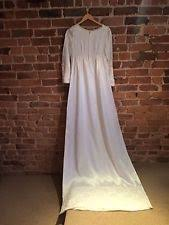 Vintage Wedding Dresses Uk Women U0027s Vintage Wedding Dresses U0026 Veils Ebay