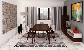 buy fusion chic dining room online in india livspace com