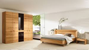 Bed Wallpaper Wooden Furniture And Bed In Bedroom Wallpaper