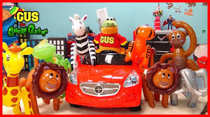 zoo animals for children gus catches wild animals inflatable toys