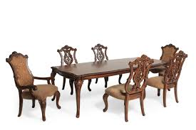 legacy pemberleigh seven piece dining set mathis brothers furniture
