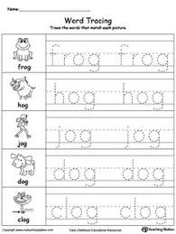 early childhood word families worksheets at word family word