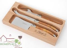 laguiole kitchen knives jean dubost laguiole 3 cheese knife set olivewood untold