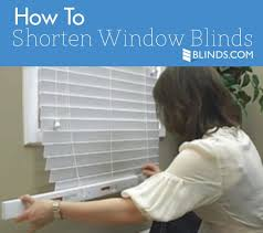 How To Fix Blinds String How To Shorten Blinds Window Faq The Finishing Touch