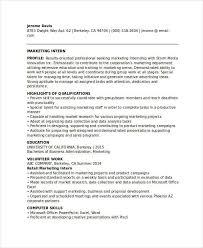 student resume sles skills and abilities 28 marketing resume templates pdf doc free premium templates