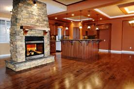 with fireplace open concept living room dining kitchen stunning