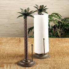 palm tree paper towel holder homes and decor pinterest paper