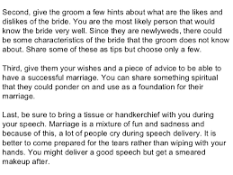 wedding wishes speech of honor wedding speech how to make it memorable