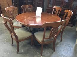 dining tables ethan allen dining room set craigslist ethan allen