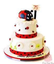 our top ten ladybug themed cakes for children pink cake box