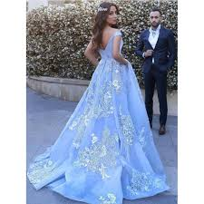 light blue formal dresses off the shoulder evening dresses light blue long evening dresses