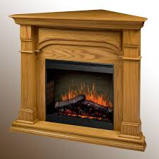 Electric Corner Fireplace Dimplex Oxford Electric Fireplace Corner Oak