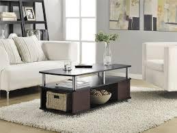 dorel carson coffee table cherry black