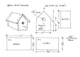 basic house plans free free wooden bird house plans the boy s almanac free bird house