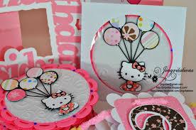Hello Kitty Invitation Cards Jingvitations Birth Announcement