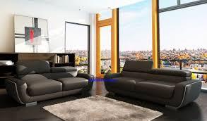 ensemble canapé 3 2 ensemble de canapé en cuir italien 3 2 1 places modèle quimper