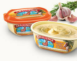 Challenge With Sauce Roasted Garlic And Herb Butter Challenge Dairy