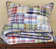 Pottery Barn Madras Curtains Madras Quilt Quilt Bedding Barn And Bedrooms