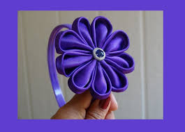 flowers for headbands how to make fabric flower for headbands