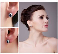 earrings kate middleton aliexpress buy jewelrypalace princess diana william kate
