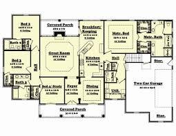 4 Bedroom 2 Bath Floor Plans by Floor Plan 4 Bedrooms 2 Living Rooms Under 2000 Sq Ft Bonus Room