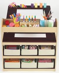 Art Desk Kids by Guidecraft Deluxe Art Center G51082
