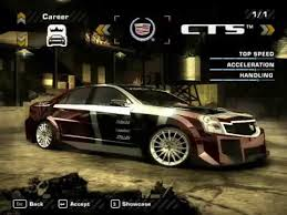 cadillac xts vs cts need for speed most wanted 2005 cadillac cts vs mercedes