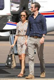 pippa middleton and james matthew arrive in darwin on way to perth