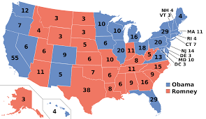 A Map Of The States by How To Go From U201cnominee U201d To U201cpresident U201d U2013the Electoral College