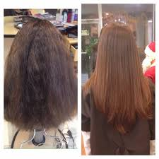 keratin treatment on black hair before and after beauty blackout magic sleek