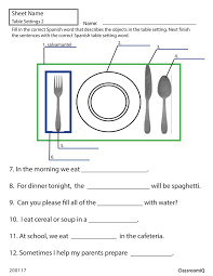 spanish worksheets free worksheets