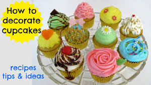 video how to decorate fun u0026 professional cupcakes at home