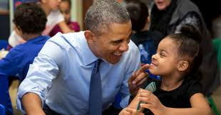 obama u0027s most adorable moments are the ones he shares with kids