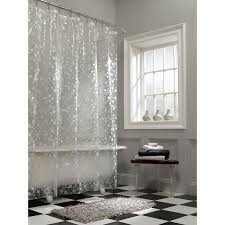 Shower Curtain Clear Great Transparent Shower Curtain Affordable Modern Home Decor