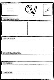 exle resume pdf microsoft excel resume templates cv template blank free in pdf