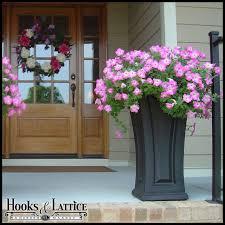 camden tall outdoor planters patio garden planters