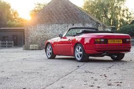 1990 porsche 911 convertible porsche 944 s2 cabriolet bure valley classics