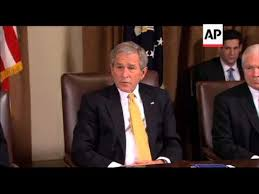 George Bush Cabinet President George W Bush Holds Last Cabinet Meeting Of His Two