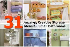 Towel Storage Ideas For Small Bathrooms 31 Genius Storage Ideas To Organize A Small Bathroom Find