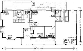multi level home floor plans traditional style house plan 3 beds 2 50 baths 1919 sq ft plan