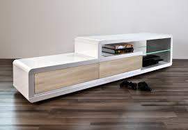 meuble deco design cuisine meuble tv mã tal et bois ã tiroirs sweet mango meuble