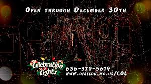 celebration of lights o fallon mo o fallontv celebration of lights o fallon missouri youtube