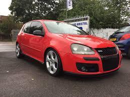used volkswagen golf gti red cars for sale motors co uk
