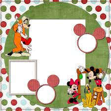 Mickey Mouse Invitation Cards Printable Mickey And Minnie Christmas Free Printable Photo Frames Cards Or