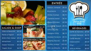 digital menu board system food menu 910 touch lantern for