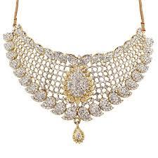 diamonds necklace photos images Buy soni art alloy quenic zirconia white diamonds necklace set jpg