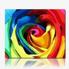 Colorful Roses Colorful Roses Pictures Promotion Shop For Promotional Colorful