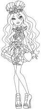 lizzie hearts by elfkena on deviantart a coloring page of lizzie